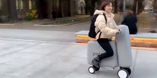 Poimo, the Inflatable Electric Bike